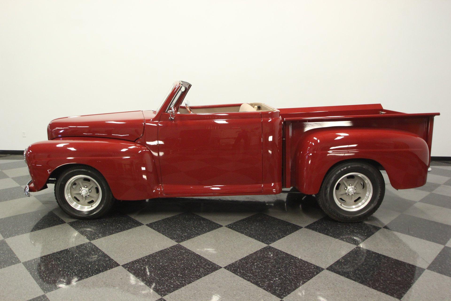 1948 ford f 1 convertible restomod