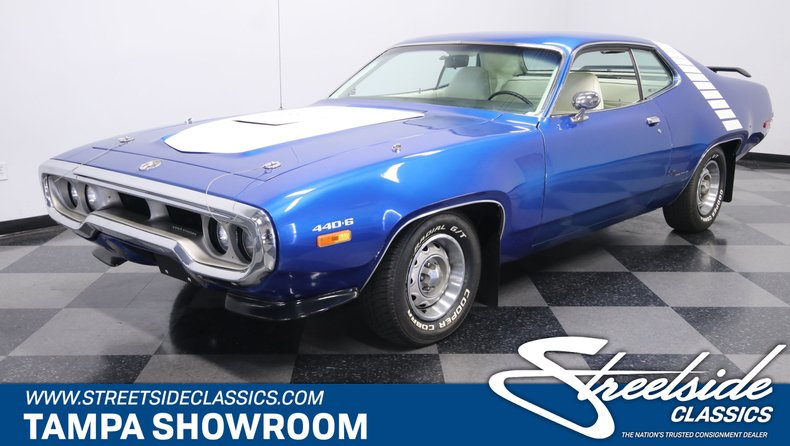 For Sale: 1972 Plymouth Road Runner