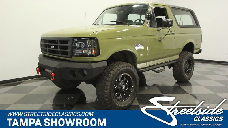 1996 ford bronco 4x4 fuel injected