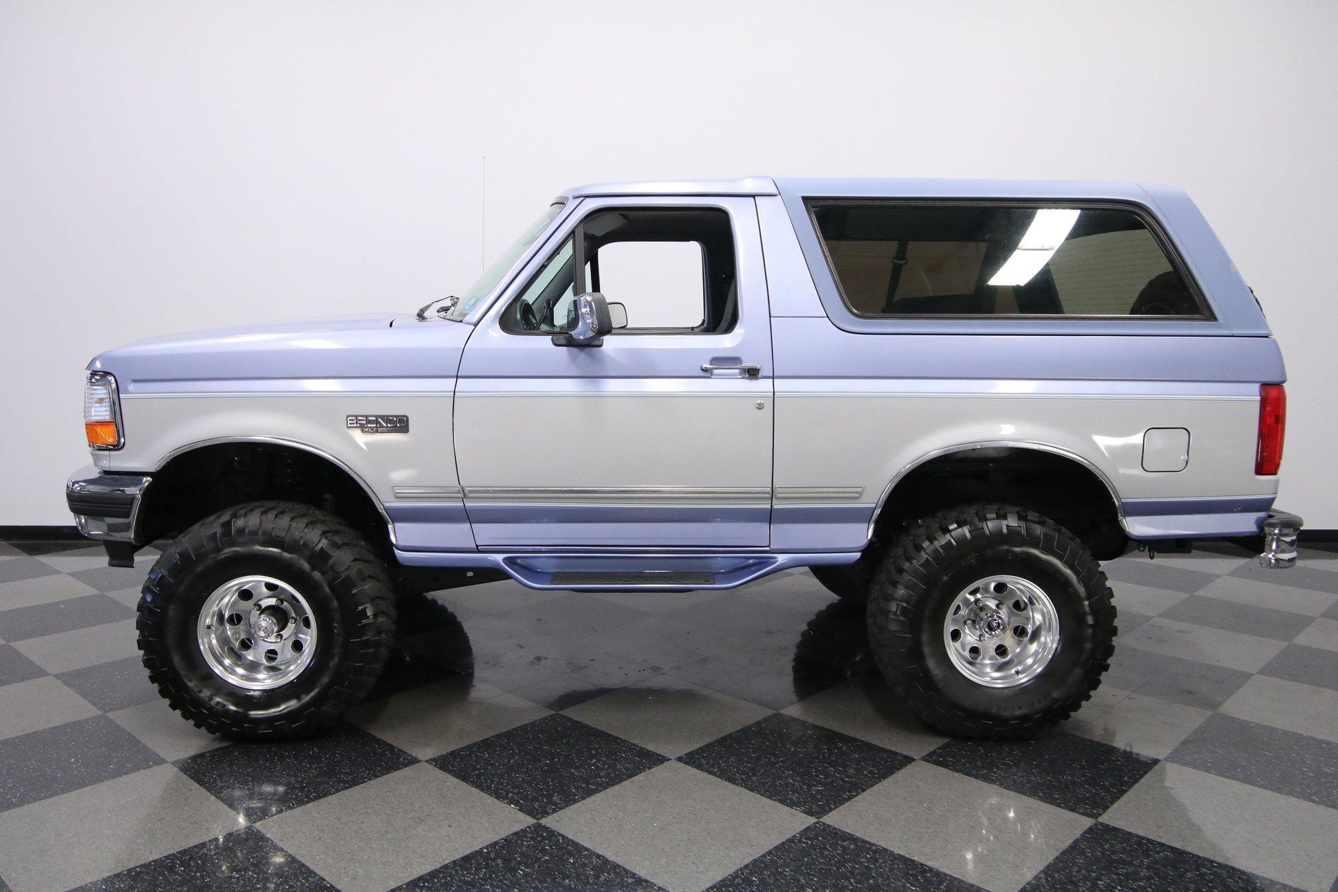 1996 ford bronco xlt 4x4