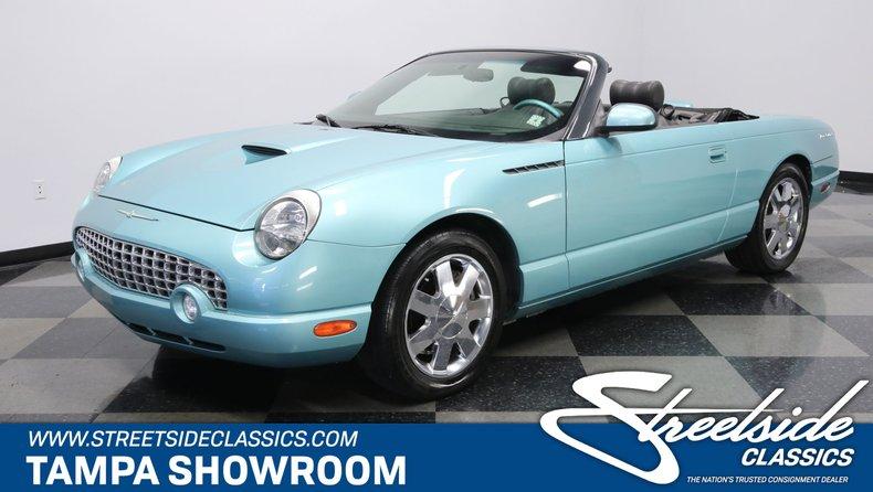 For Sale: 2002 Ford Thunderbird