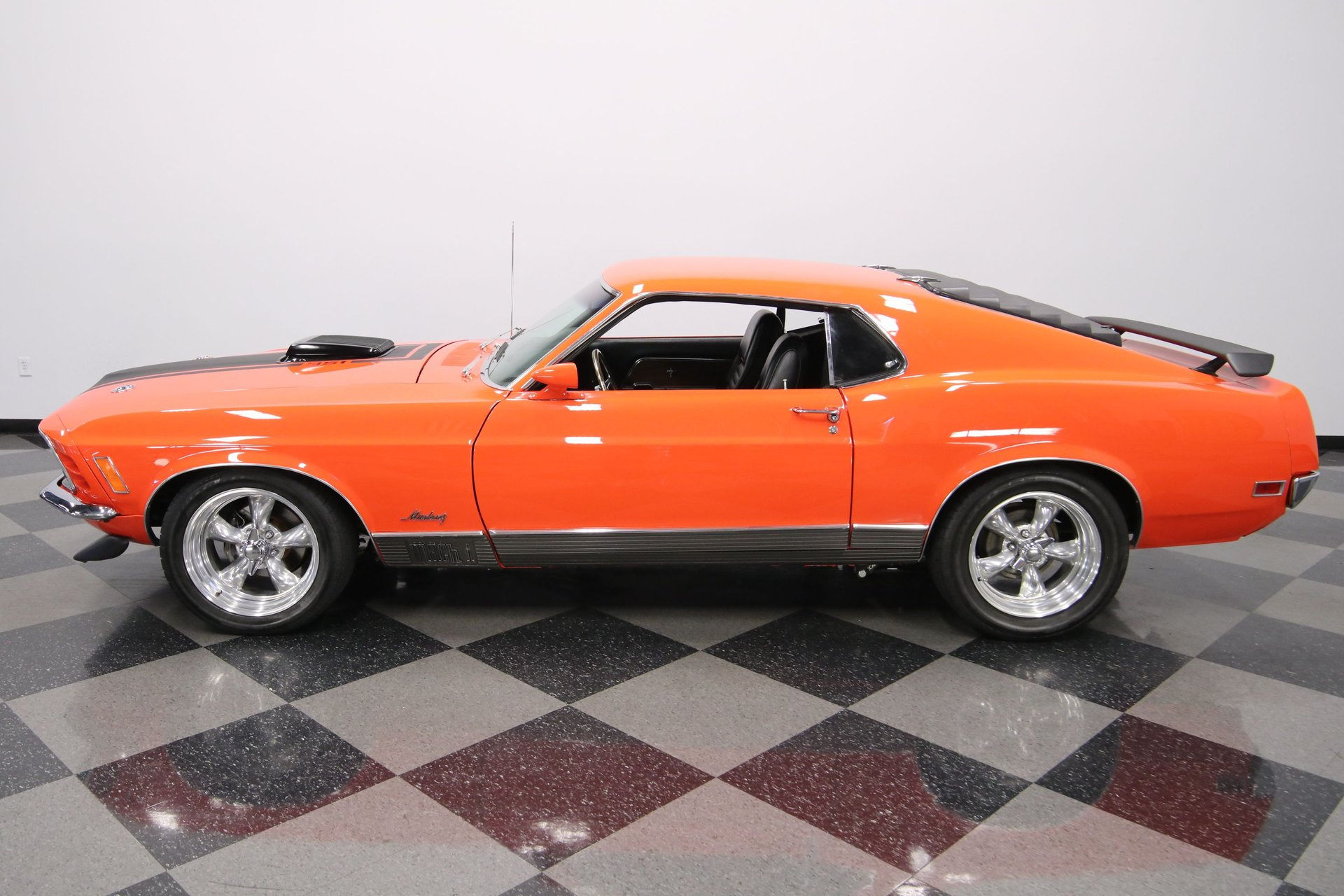 1970 ford mustang mach 1 restomod