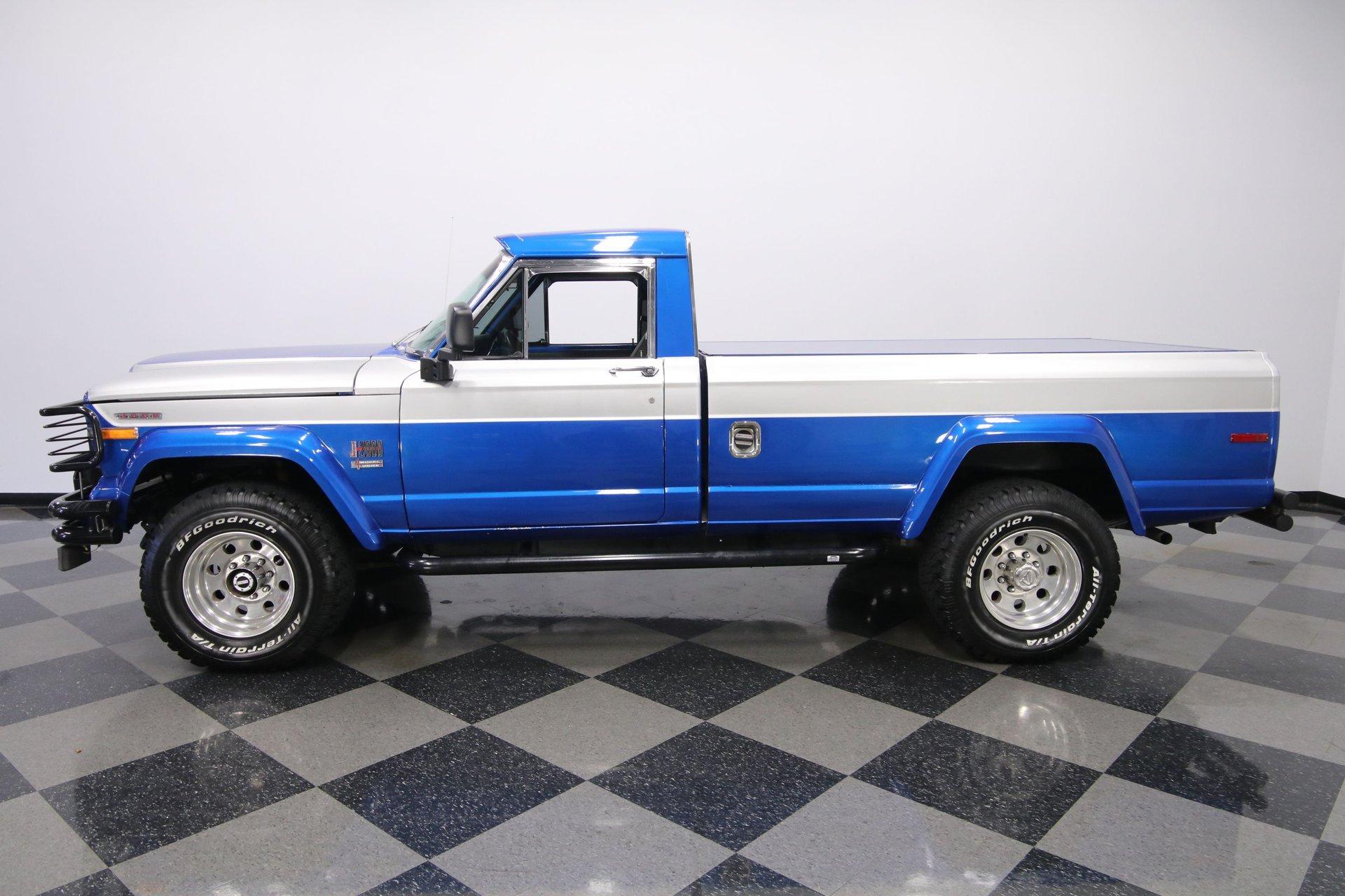 1971 jeep j2000 4x4