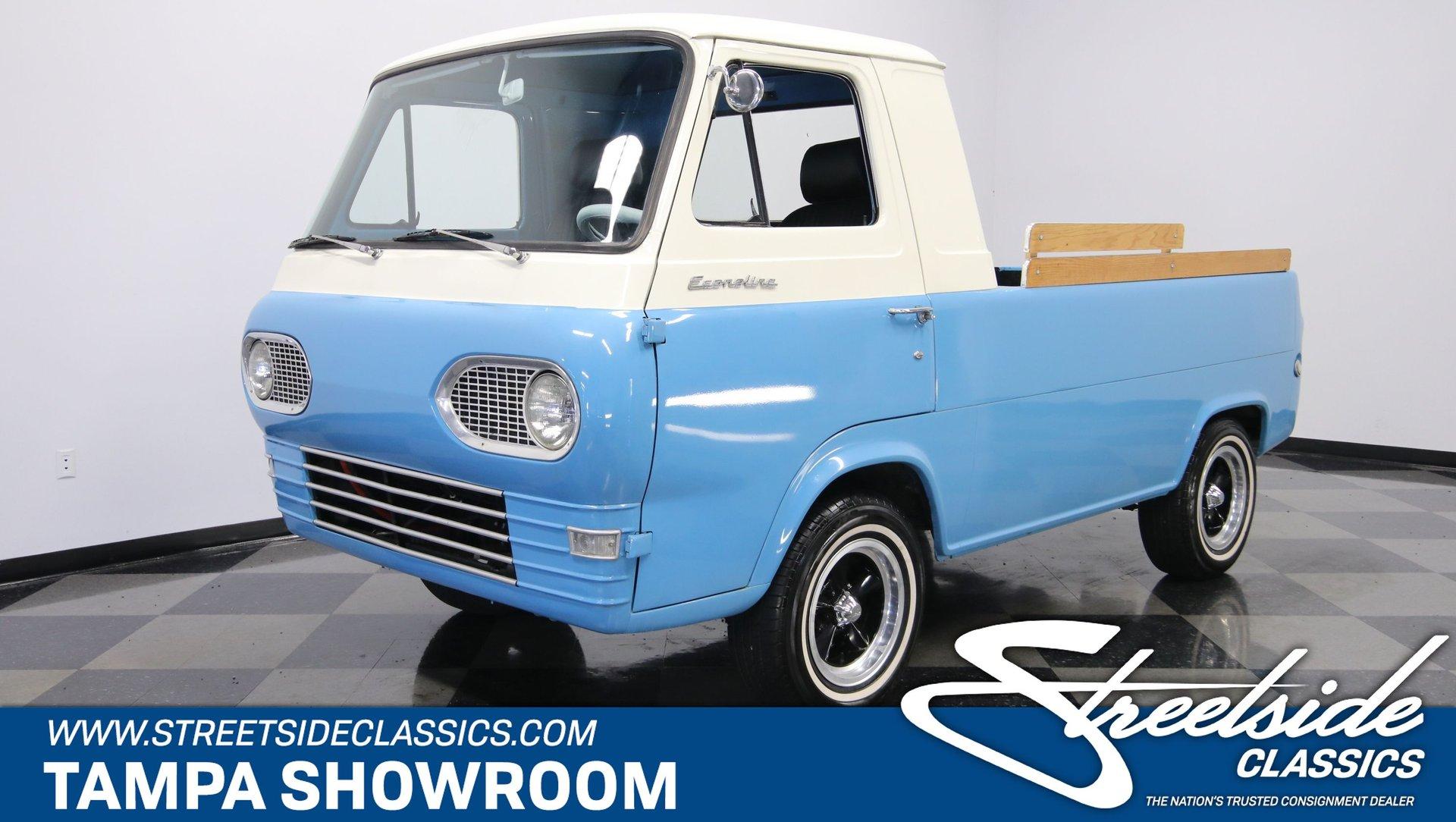 1961 ford econoline e100