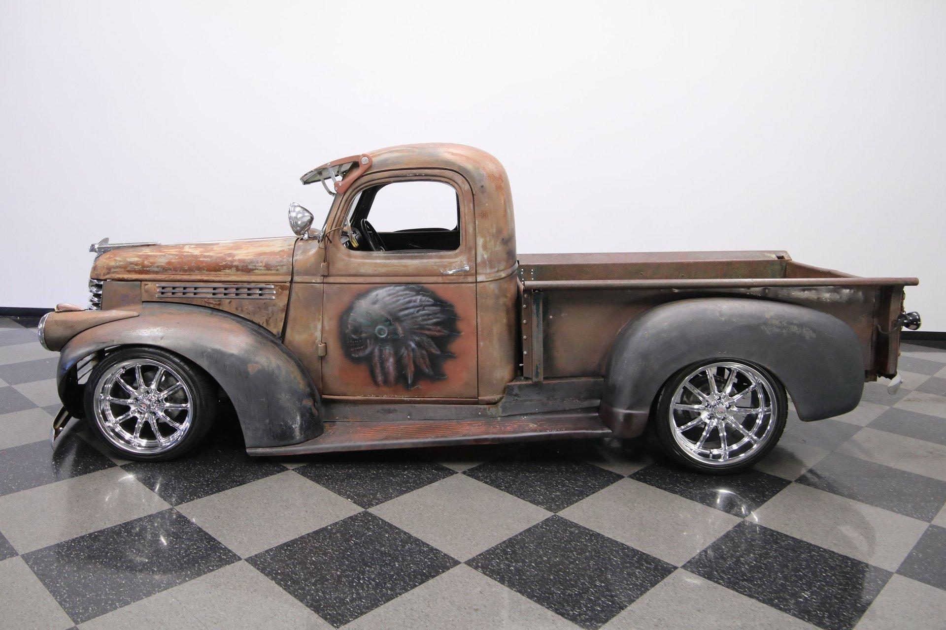 1947 chevrolet 3100 patina