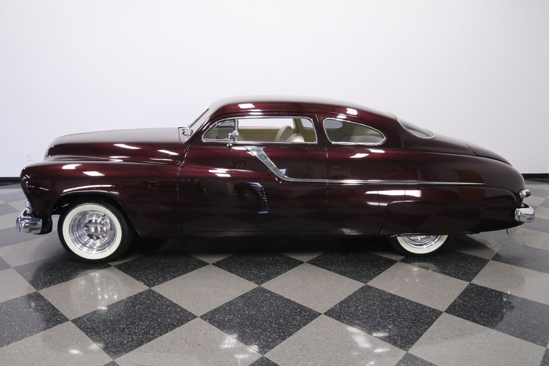 1950 mercury coupe lead sled