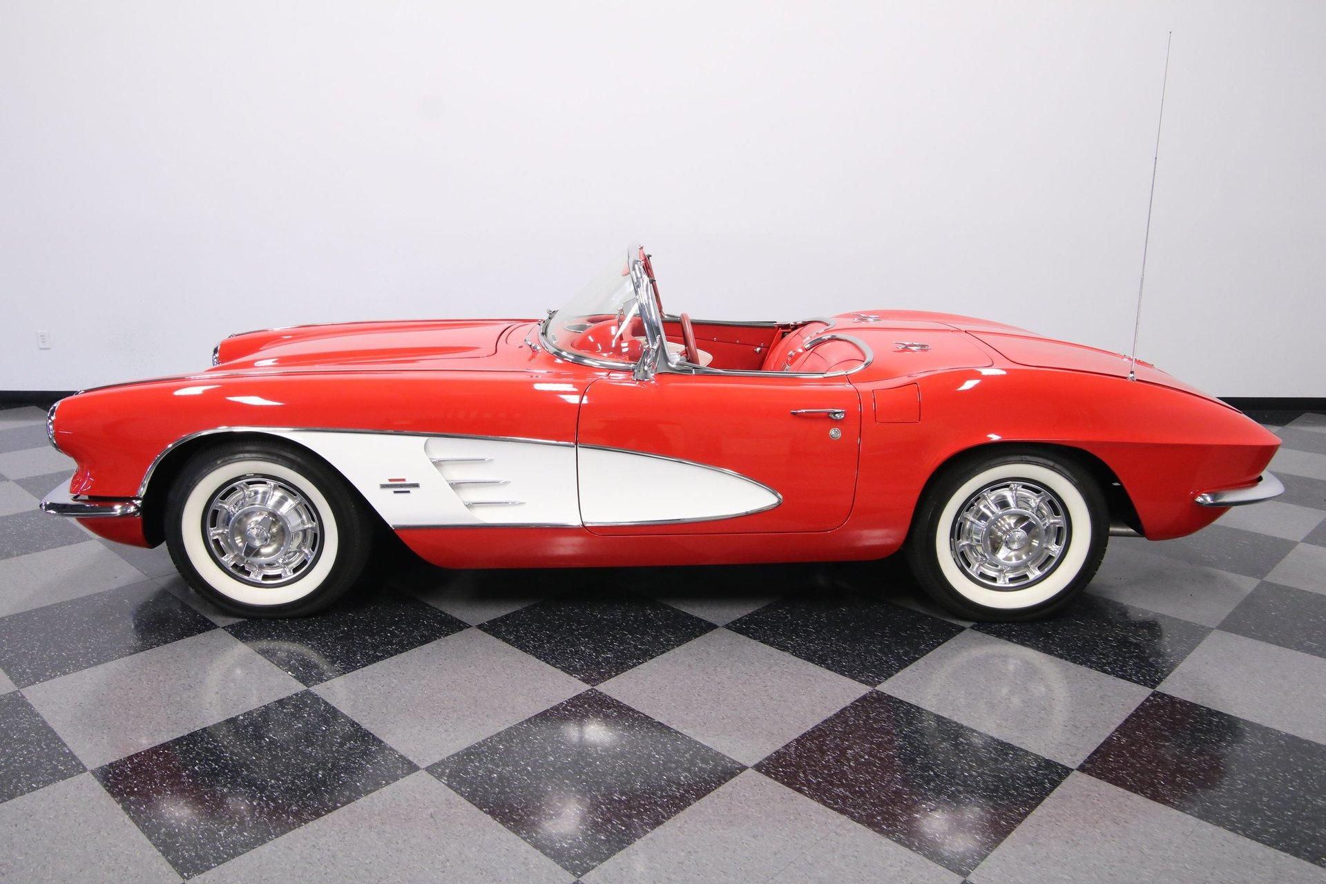 1961 chevrolet corvette convertible restomod