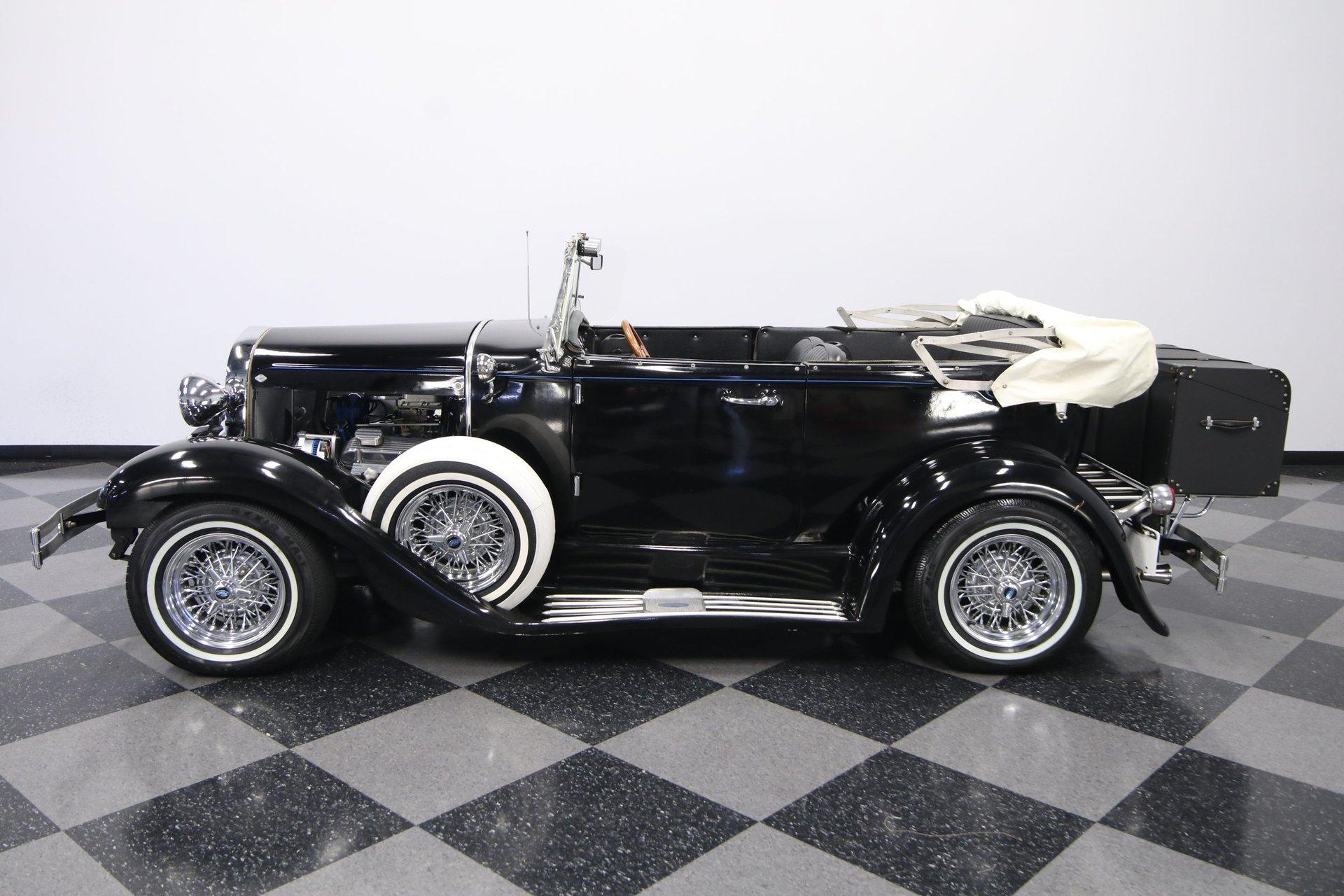 1931 ford model a phaeton replica