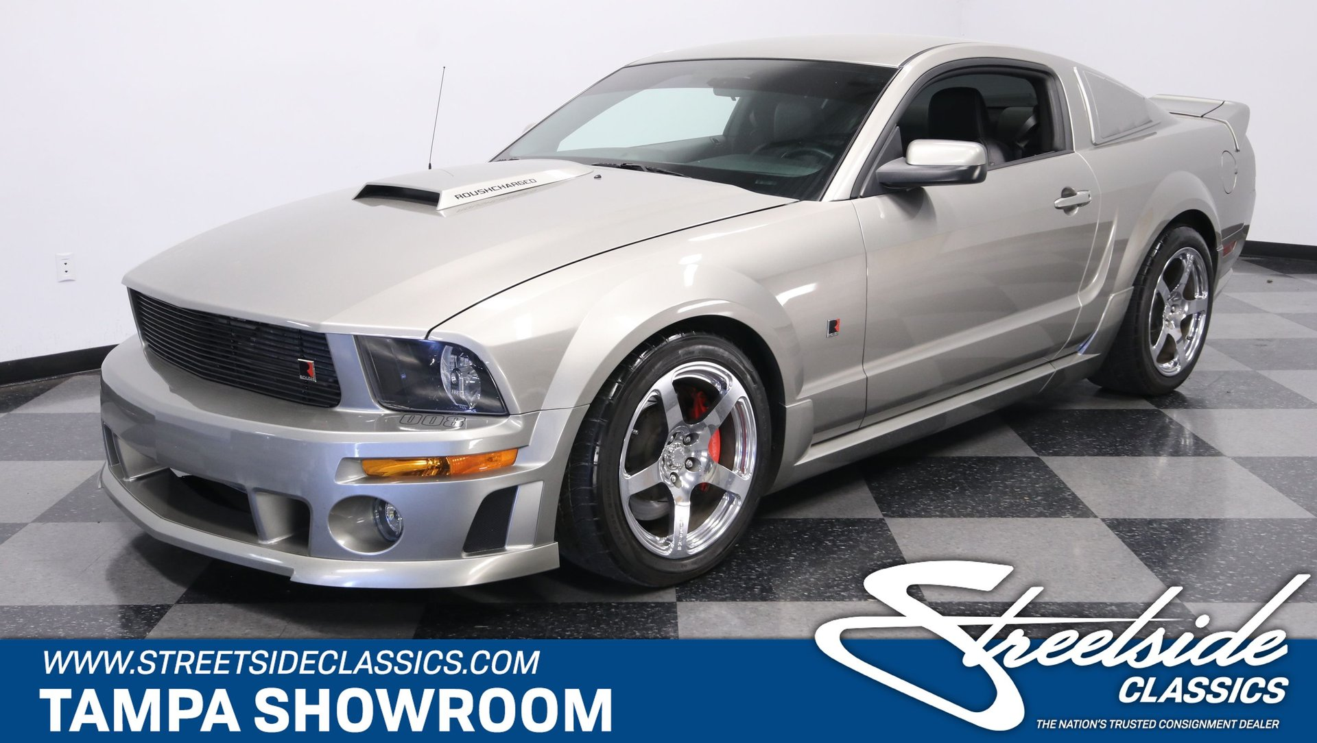 2008 ford mustang roush stage 3