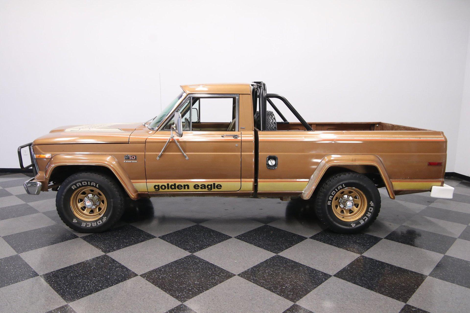 1979 jeep j10 golden eagle 4x4