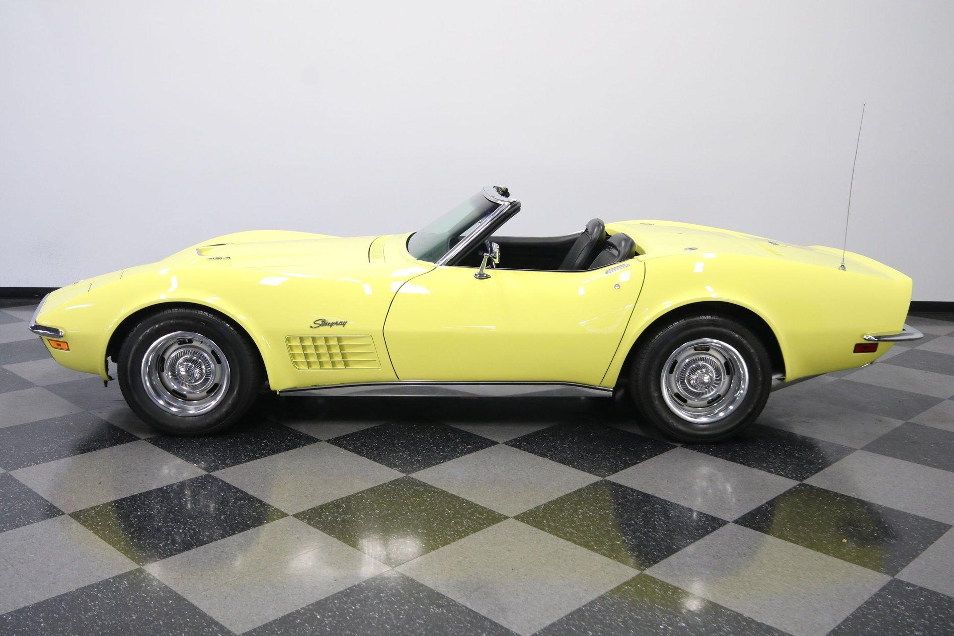 1970 chevrolet corvette 454 convertible