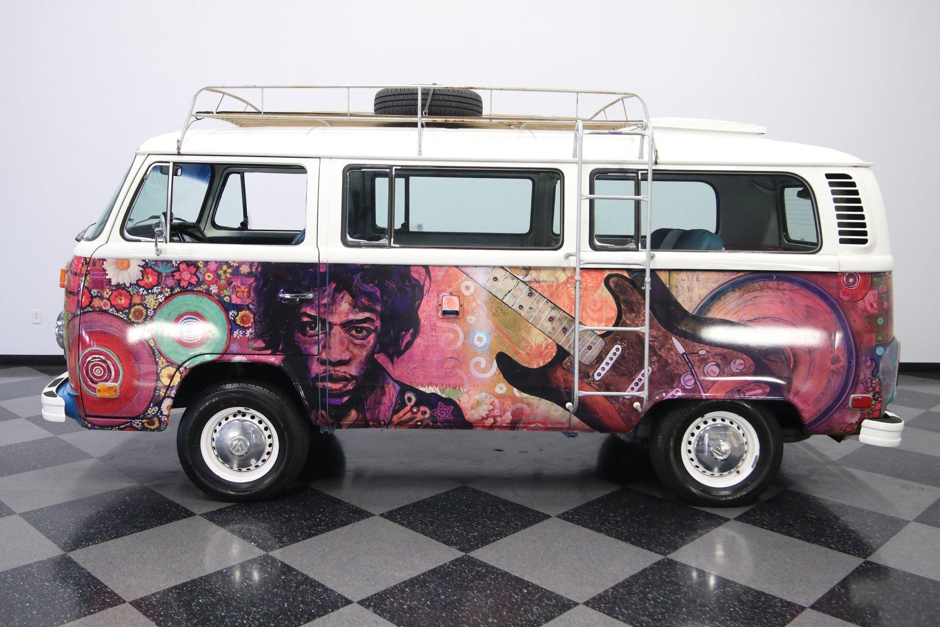 1974 volkswagen type 2 bus