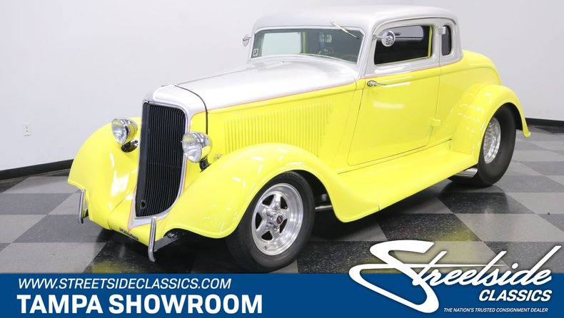 For Sale: 1934 Plymouth 5-Window Coupe
