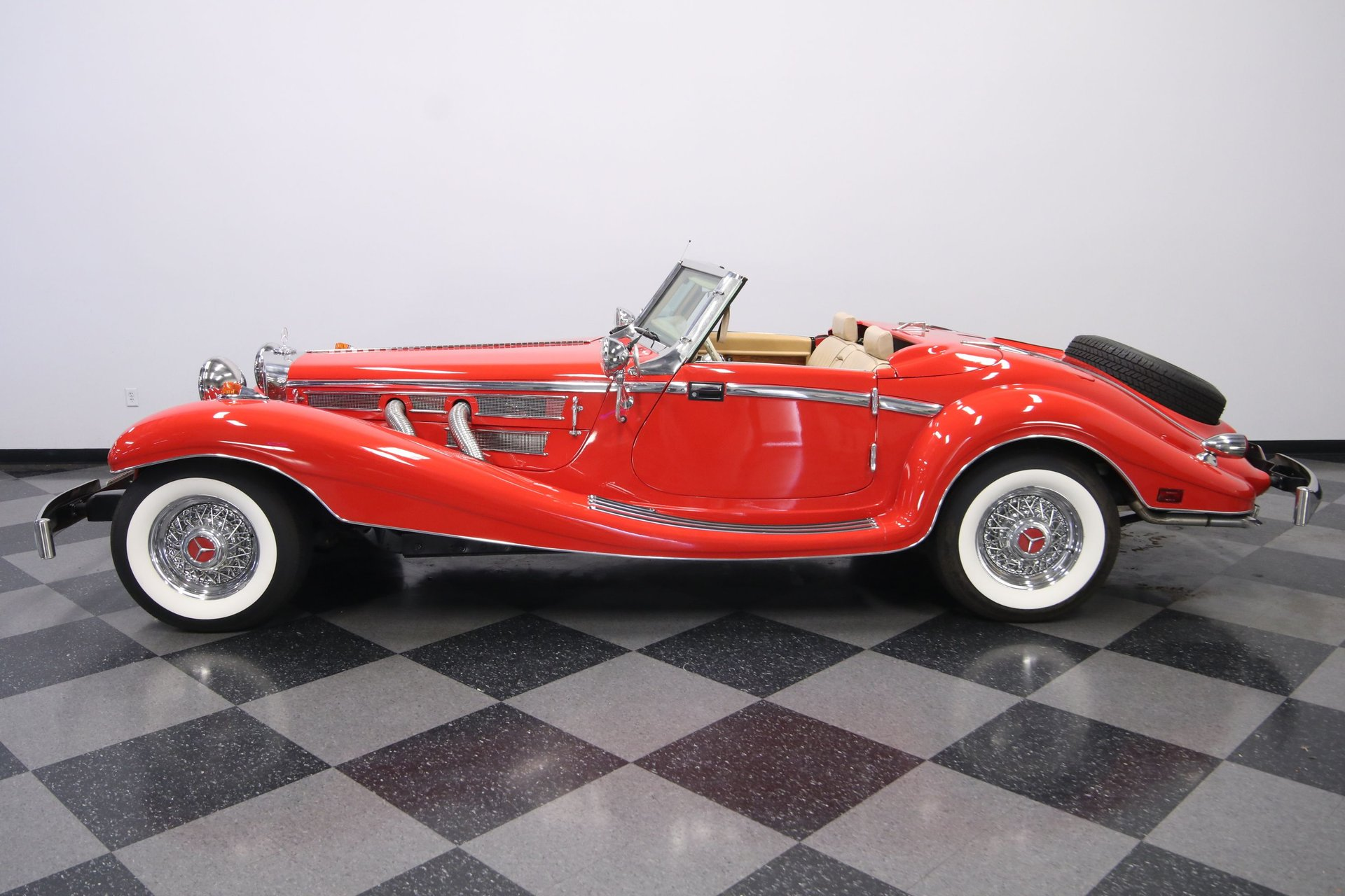 1934 mercedes benz 500k replica