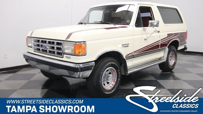 For Sale: 1988 Ford Bronco