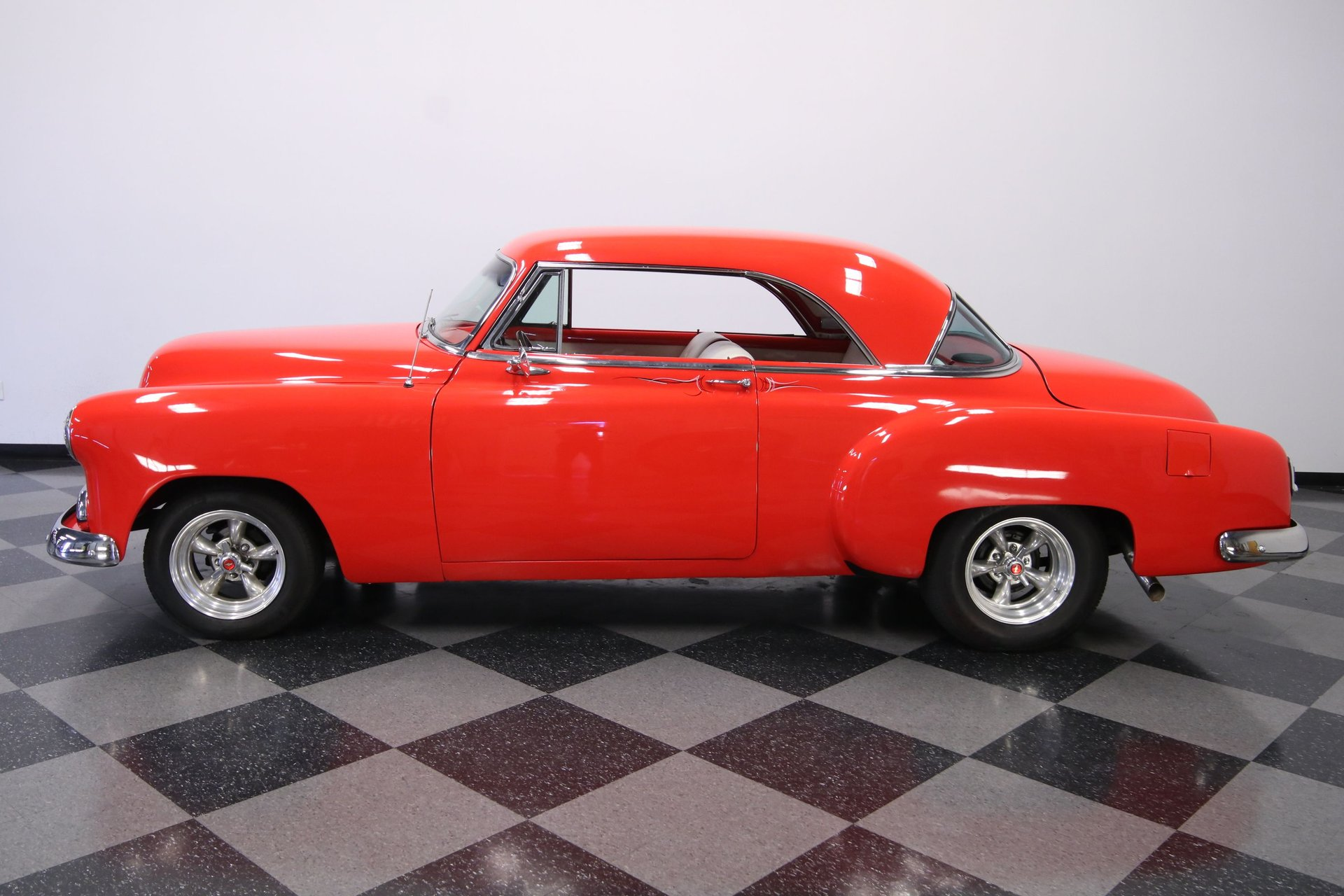 1952 chevrolet bel air restomod