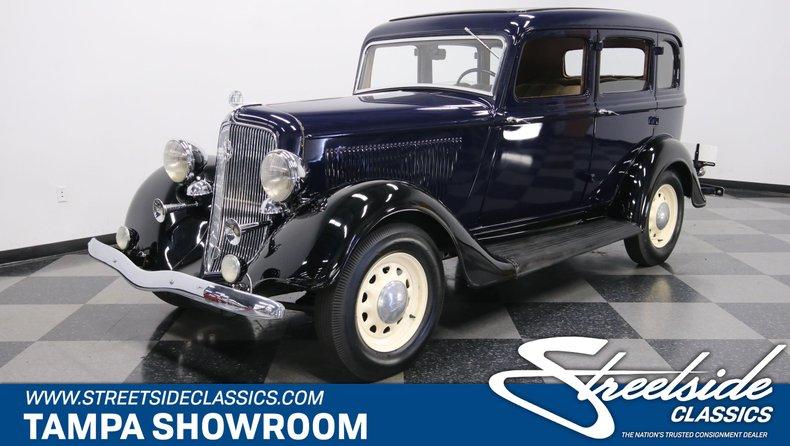For Sale: 1934 Plymouth 4 Door Sedan