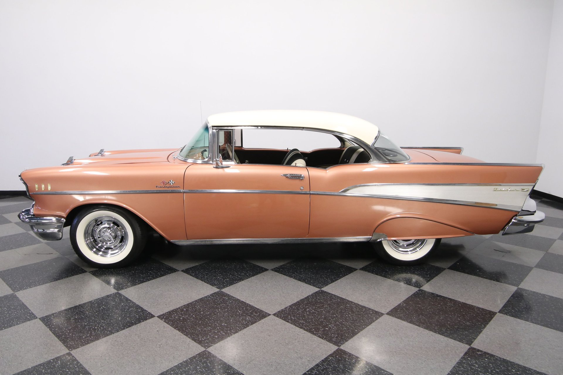 1957 chevrolet bel air hard top restomod