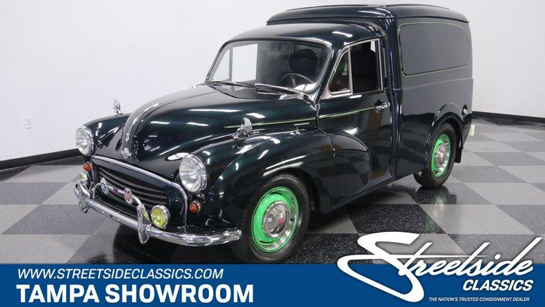For Sale: 1965 Morris Minor