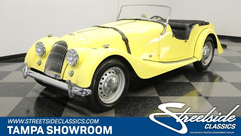 For Sale: 1958 Morgan Plus 4