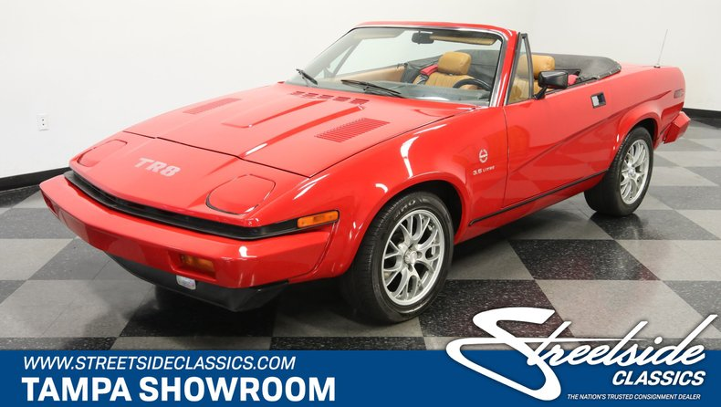 For Sale: 1980 Triumph TR8