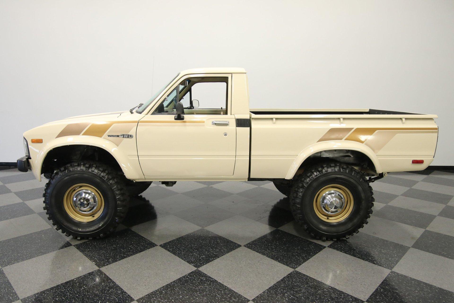 1980 toyota pickup sr5 4x4