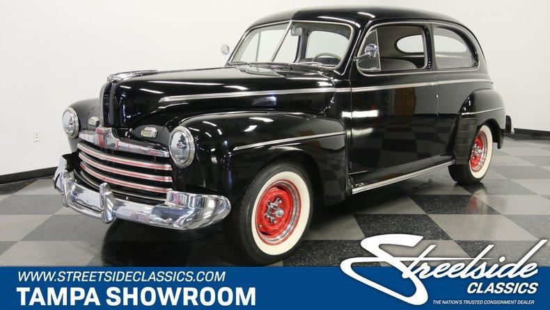For Sale: 1946 Ford Tudor