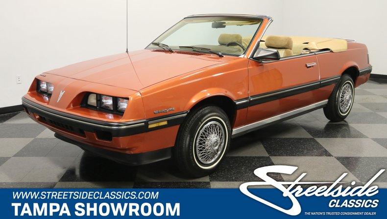 For Sale: 1985 Pontiac Sunbird