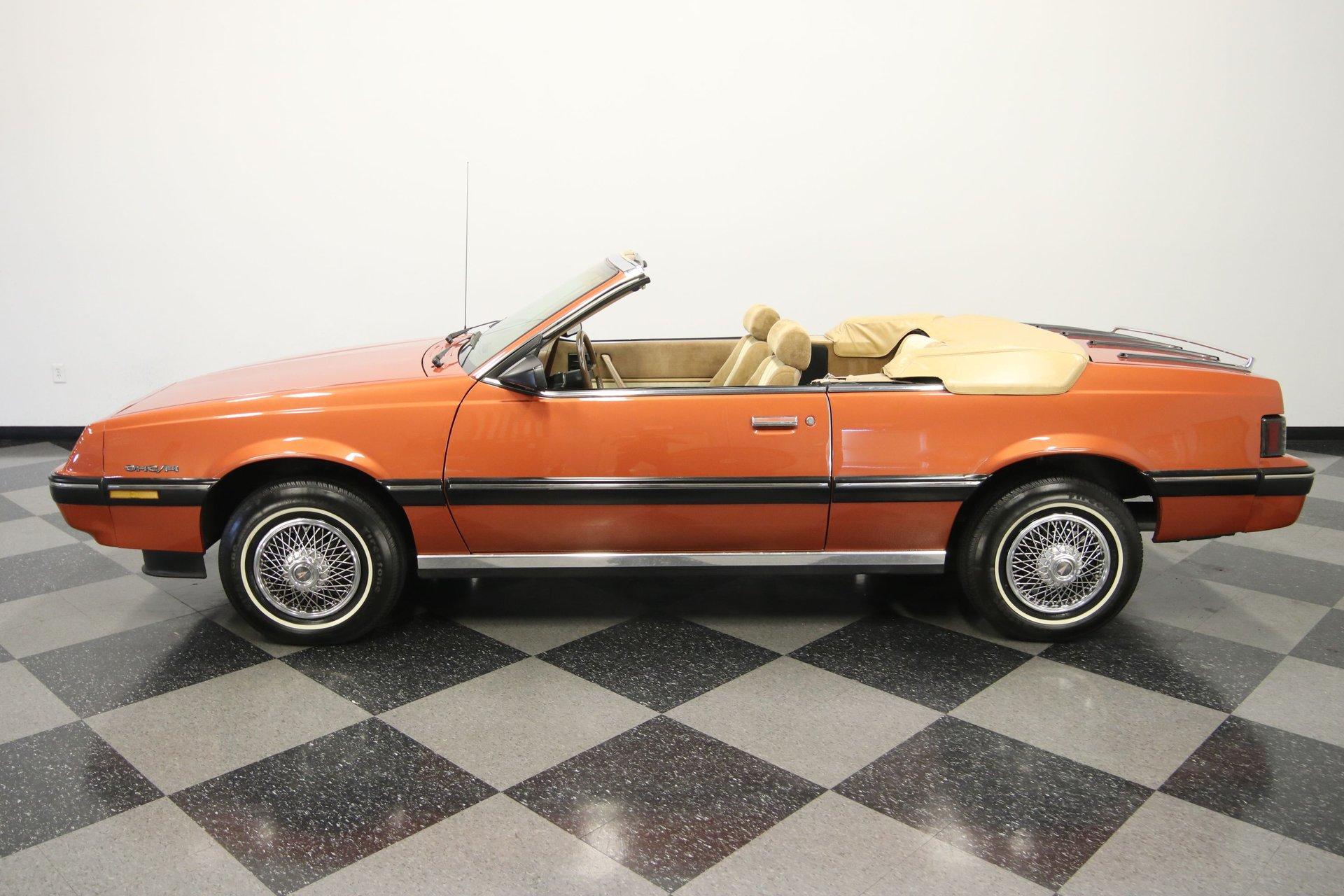 1985 pontiac sunbird convertible
