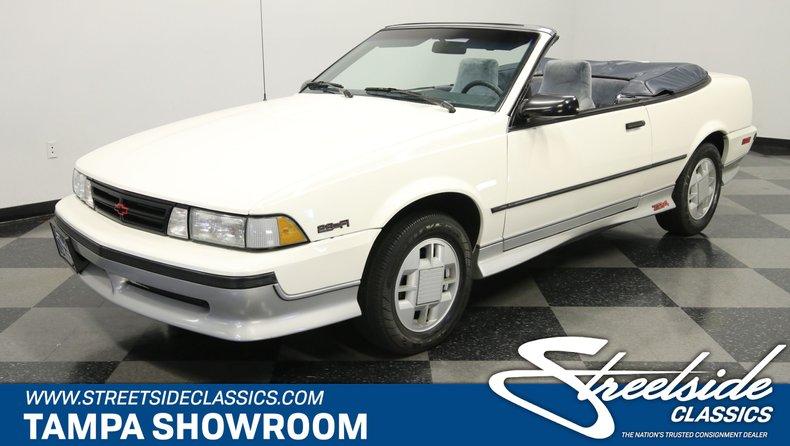 For Sale: 1989 Chevrolet Cavalier