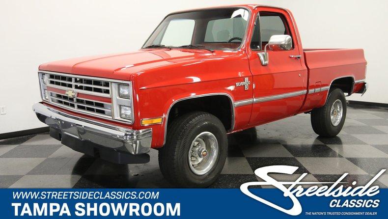 For Sale: 1987 Chevrolet K10