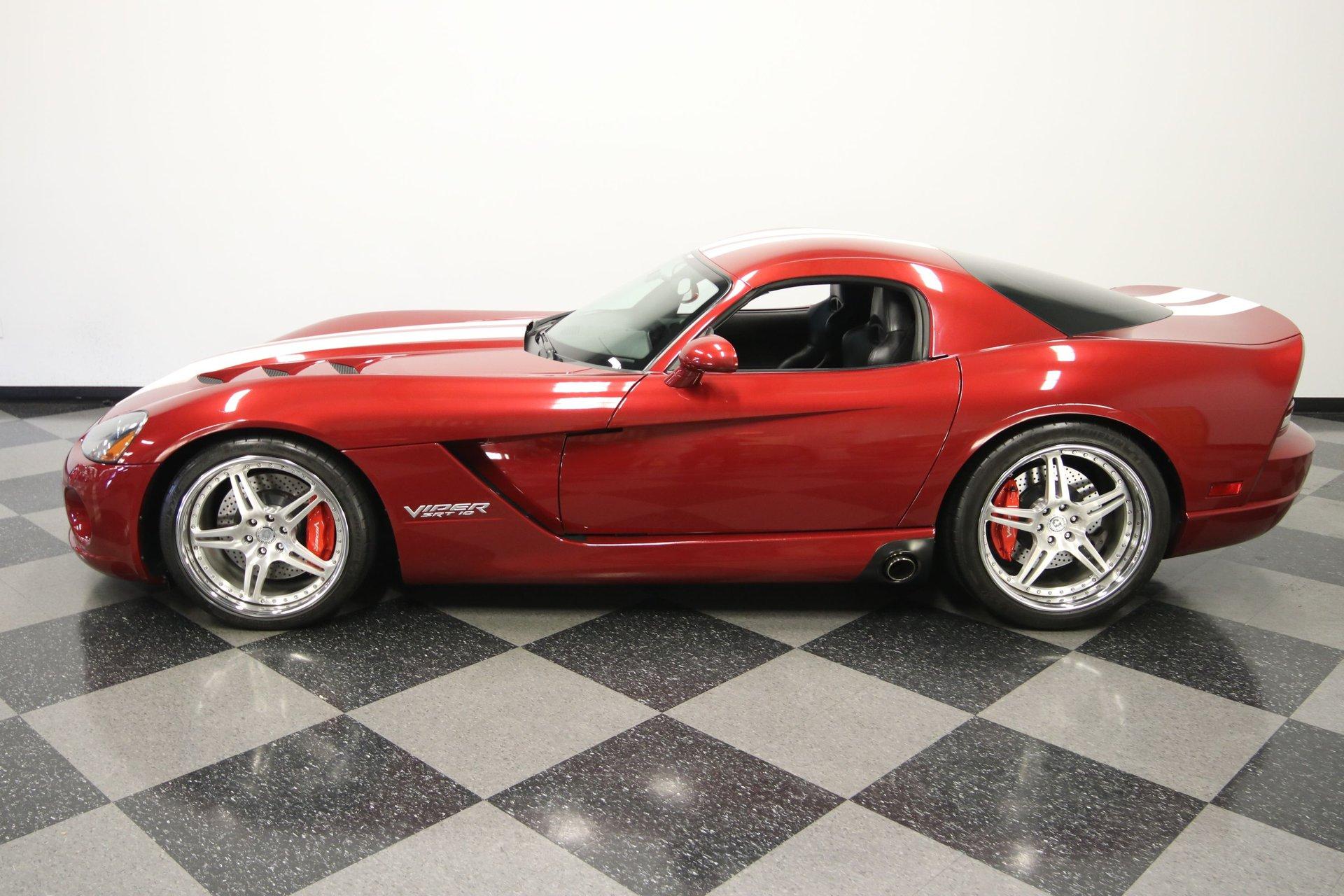 2008 dodge viper srt 10 coupe