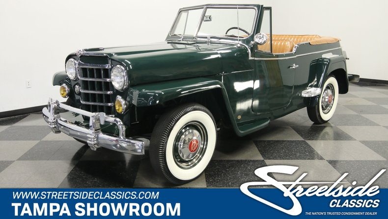 For Sale: 1950 Willys Jeepster