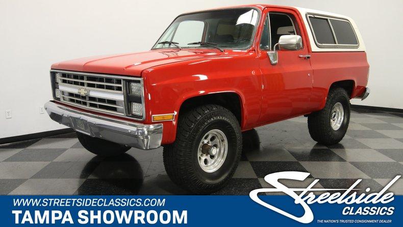 For Sale: 1986 Chevrolet Blazer