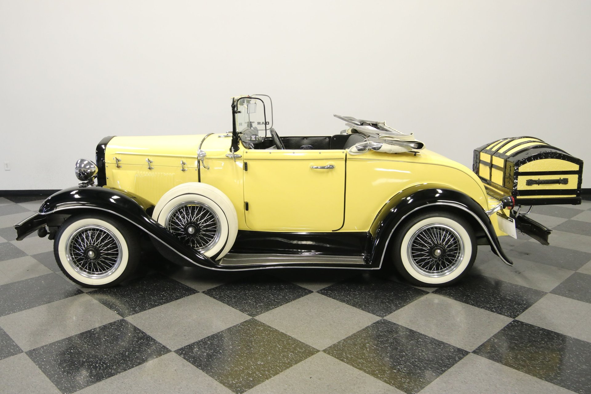1931 ford model a rumble seat roadster replica