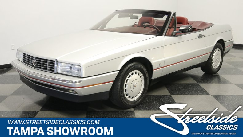 For Sale: 1987 Cadillac Allante