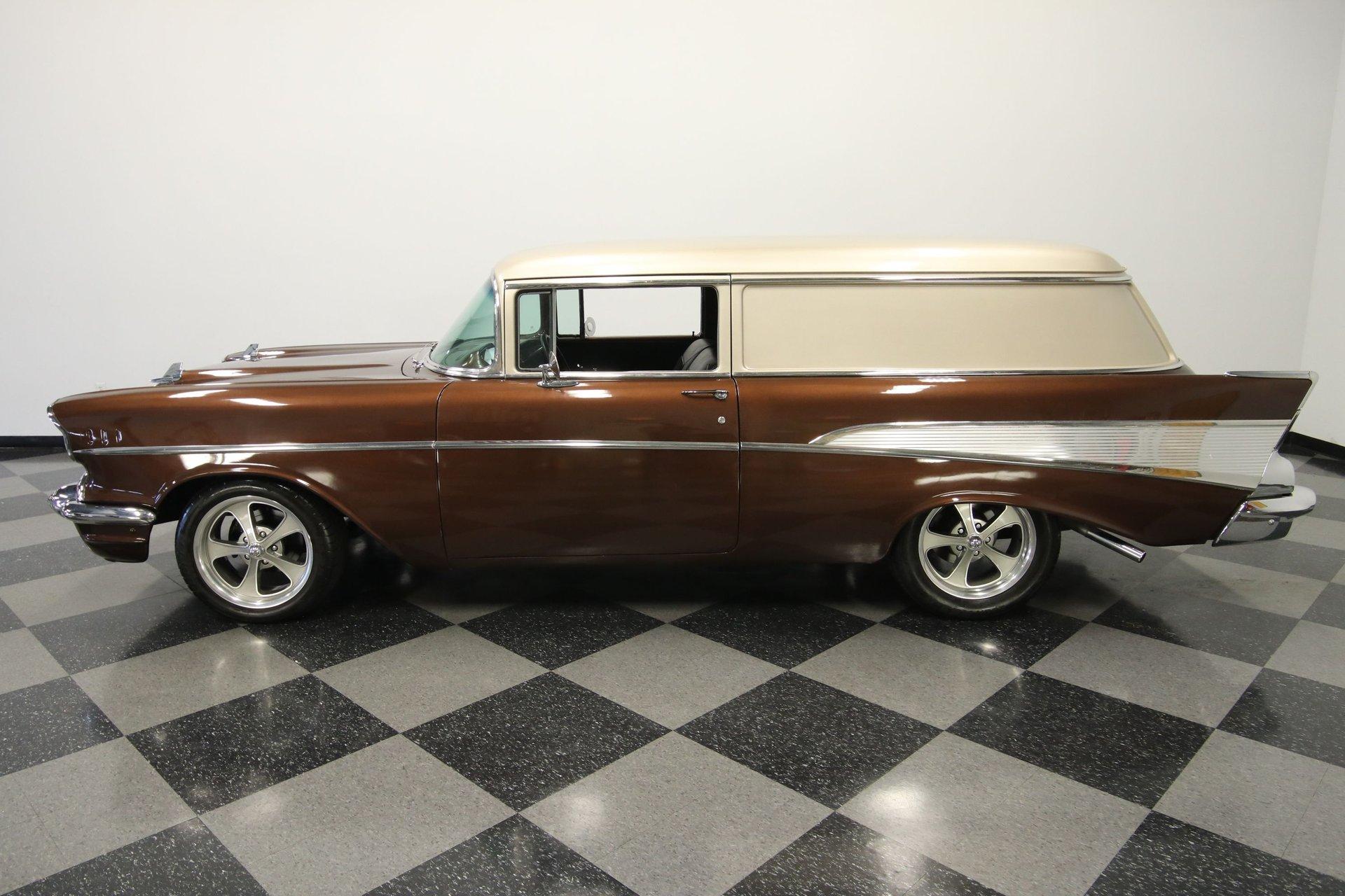 1957 chevrolet 210 sedan delivery tribute