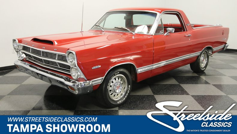 For Sale: 1967 Ford Ranchero