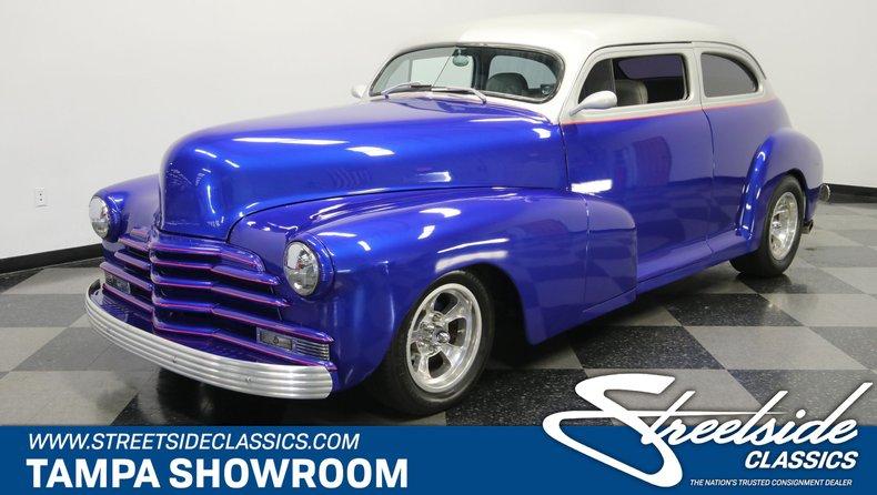 For Sale: 1948 Chevrolet Fleetline