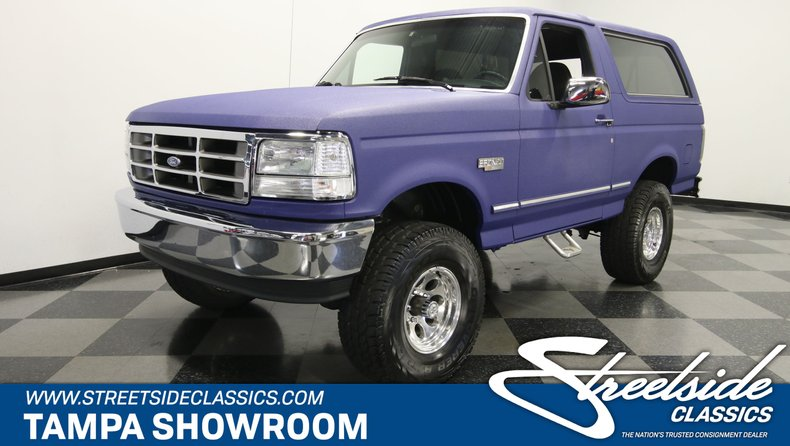 For Sale: 1993 Ford Bronco