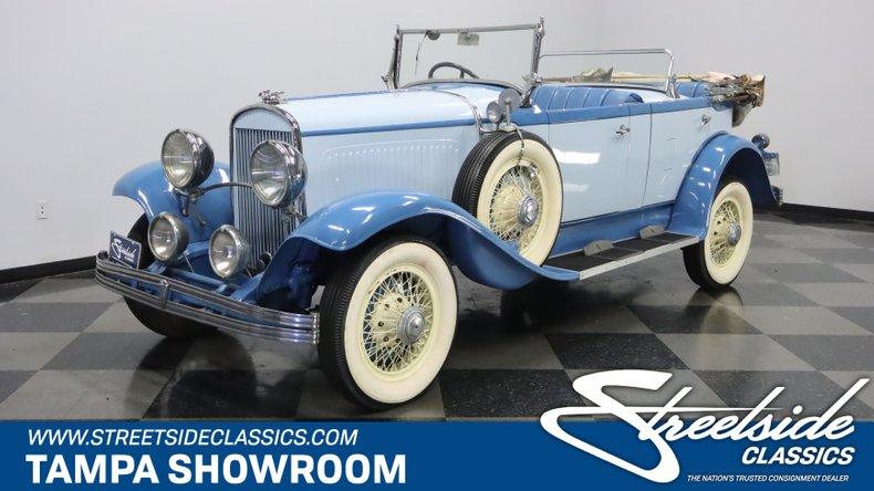 For Sale: 1929 Chrysler Series 75