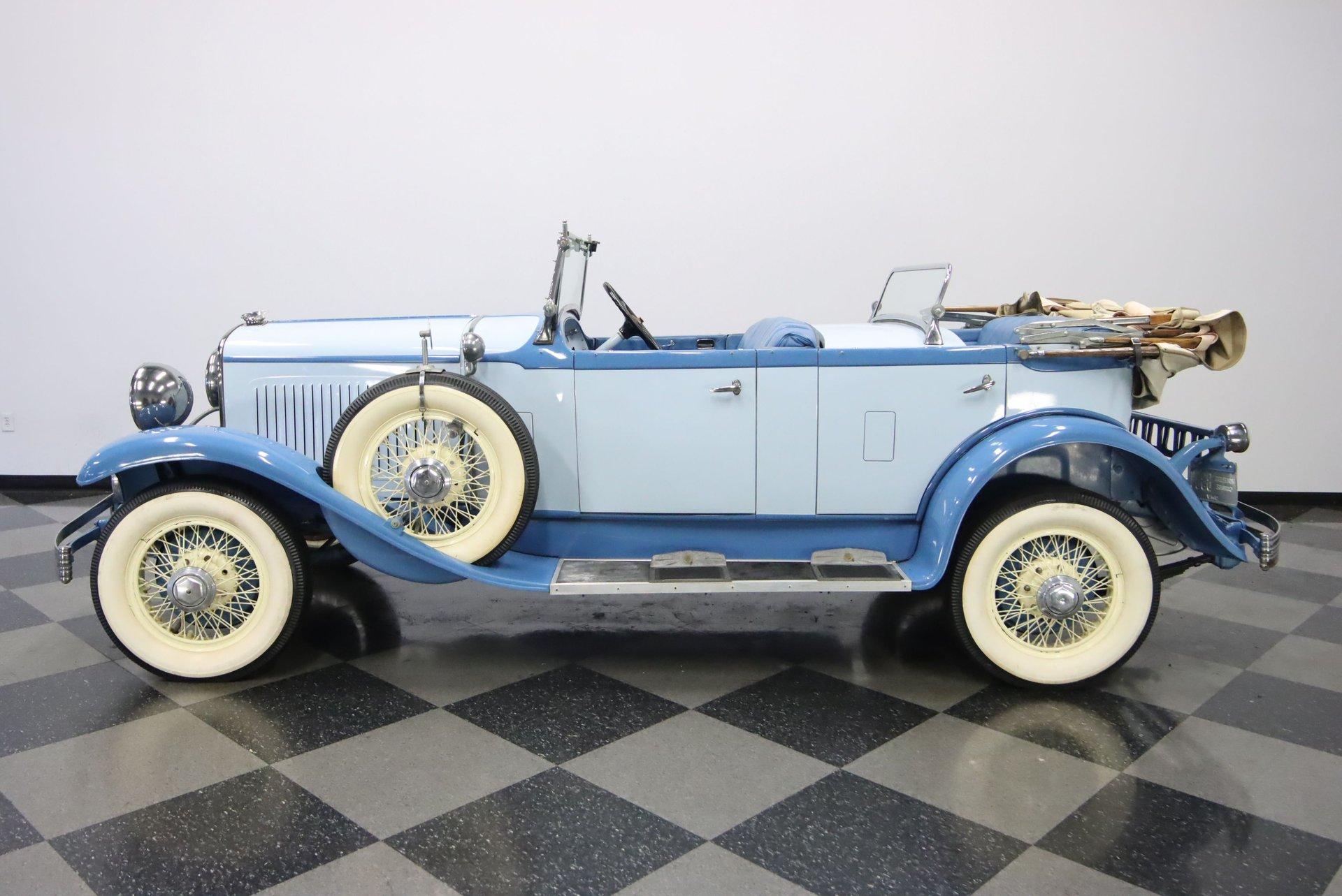 1929 chrysler series 75 tonneau phaeton