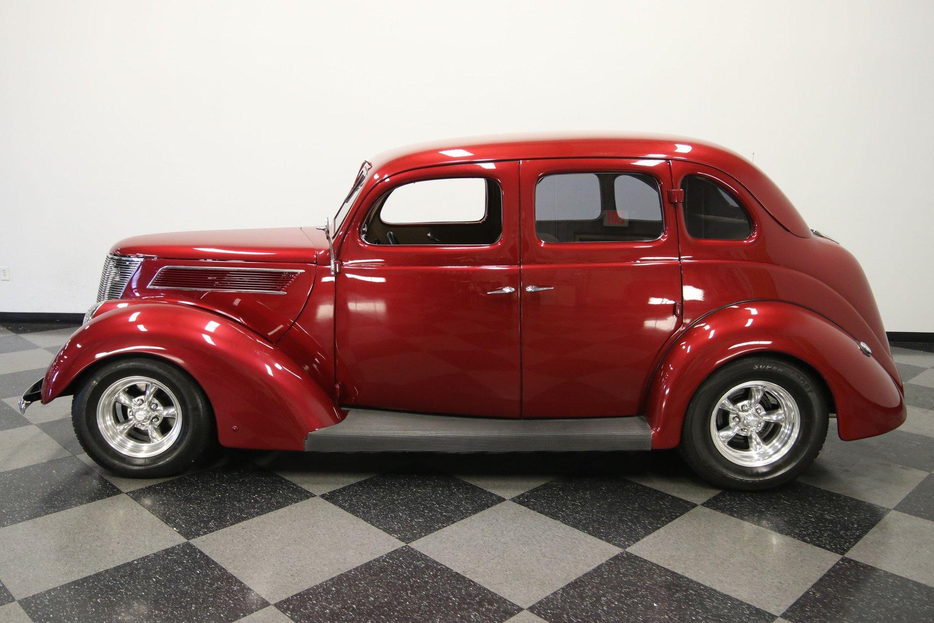 1937 ford sedan restomod