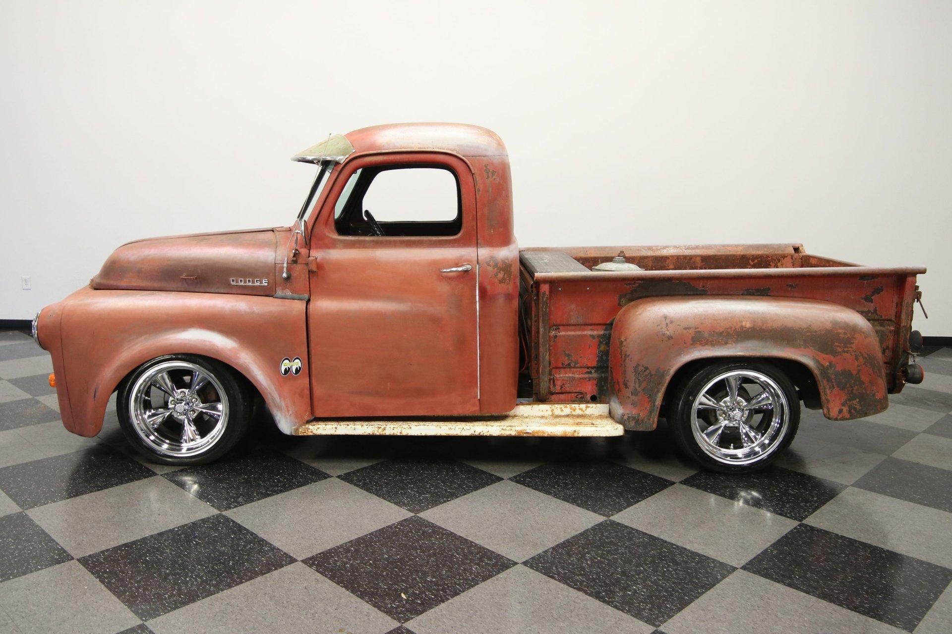1953 dodge b series truck 1 2 ton patina
