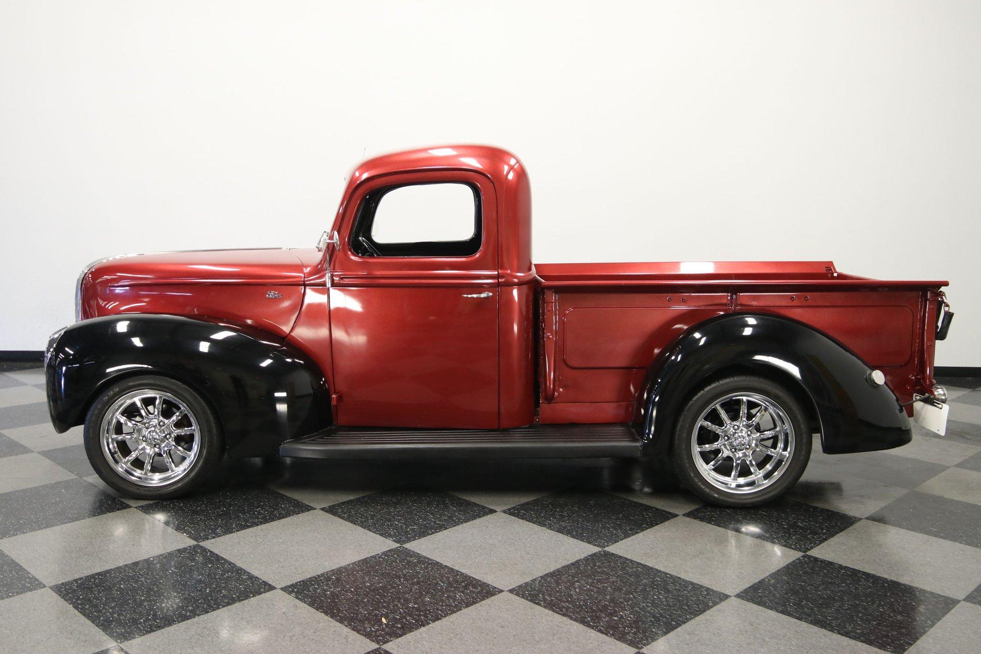 1940 ford pickup restomod