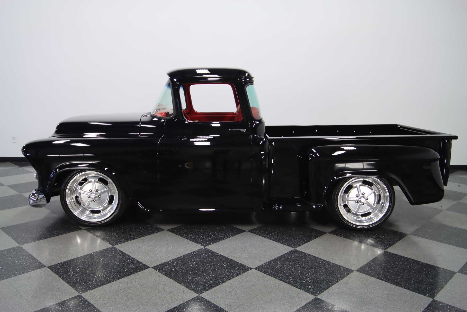 1955 chevrolet 3100 big window restomod