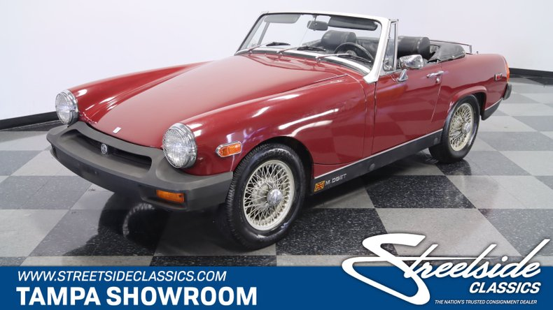For Sale: 1976 MG Midget