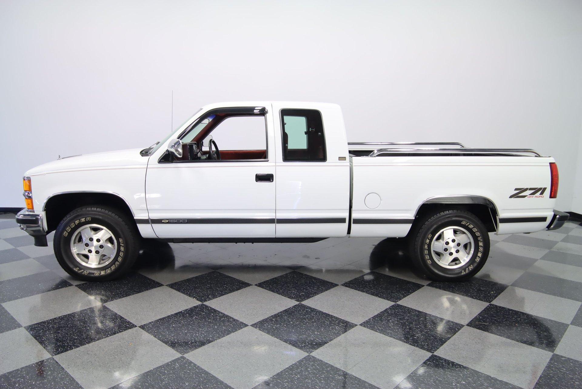 1994 chevrolet k1500 extended cab 4x4 silverado