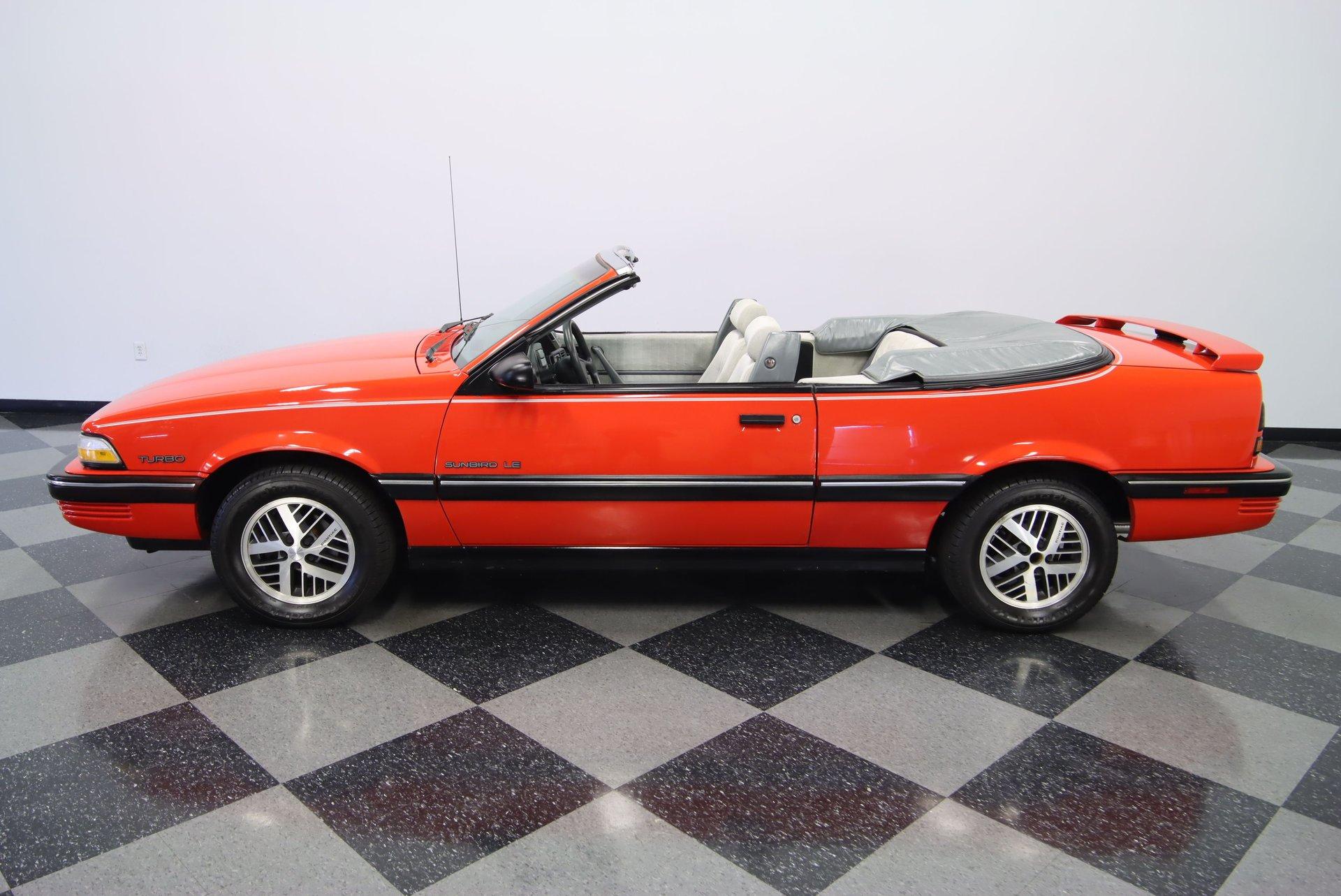 1990 pontiac sunbird turbo convertible
