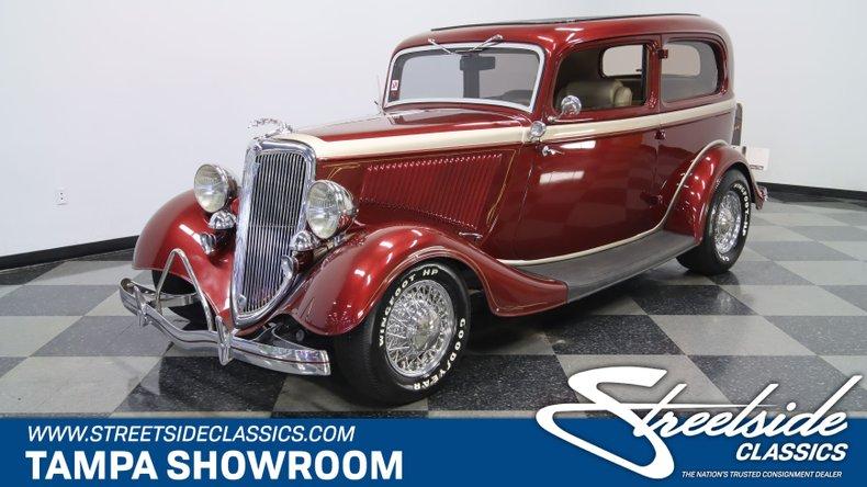 For Sale: 1934 Ford Tudor